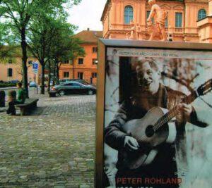 Peter Rohland im Rastätter Schloss Foto: Ingrid Thörner