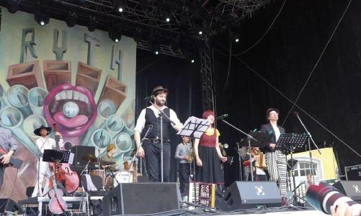 pitters lieder mit D. Khan, D. Saam & M. Drasch Foto: mike