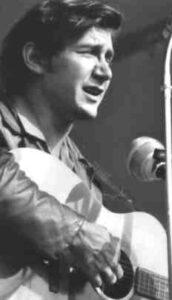 Phil Ochs, Waldeck 1966 - Foto: Schiffler