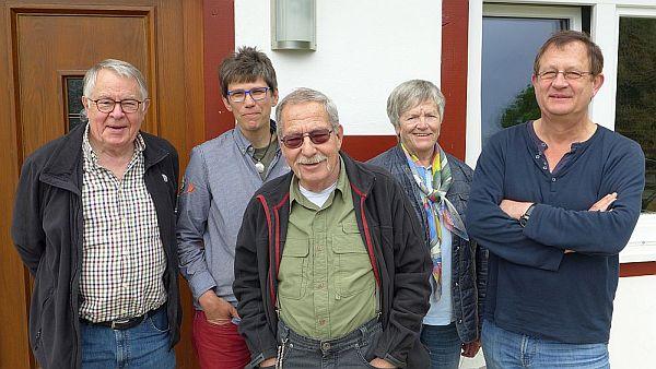 v.l.n.r.: Dr. J. Michael, Dr. S. Kupfer, A. Kuhlmann, G. Möller-Pantleon, J. Haverkamp